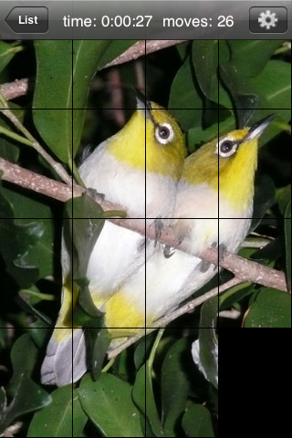 Screenshot aQ's Pro Slider Puzzle: iLove Birds